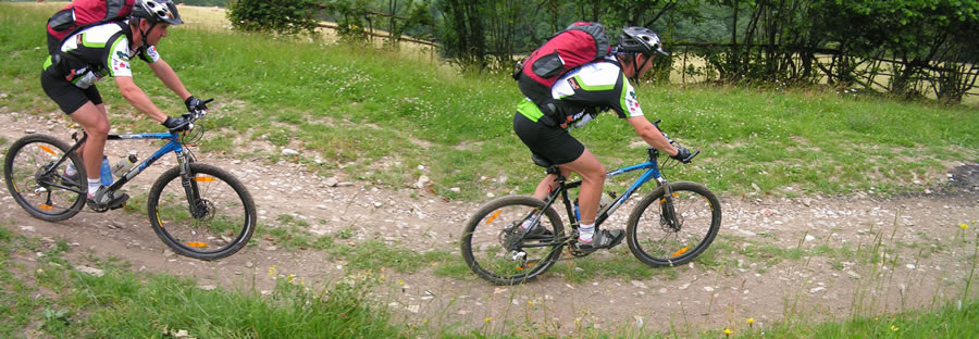 Mountainbiketour in der Steiermark
